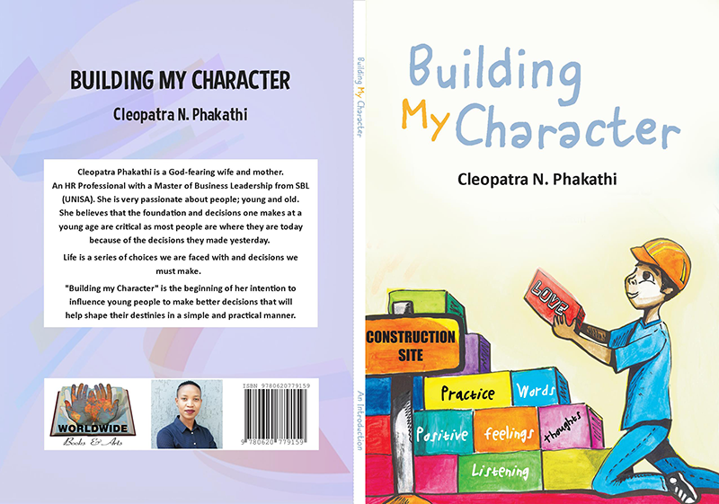 Building my Character by Cleopatra Phakathi - R120