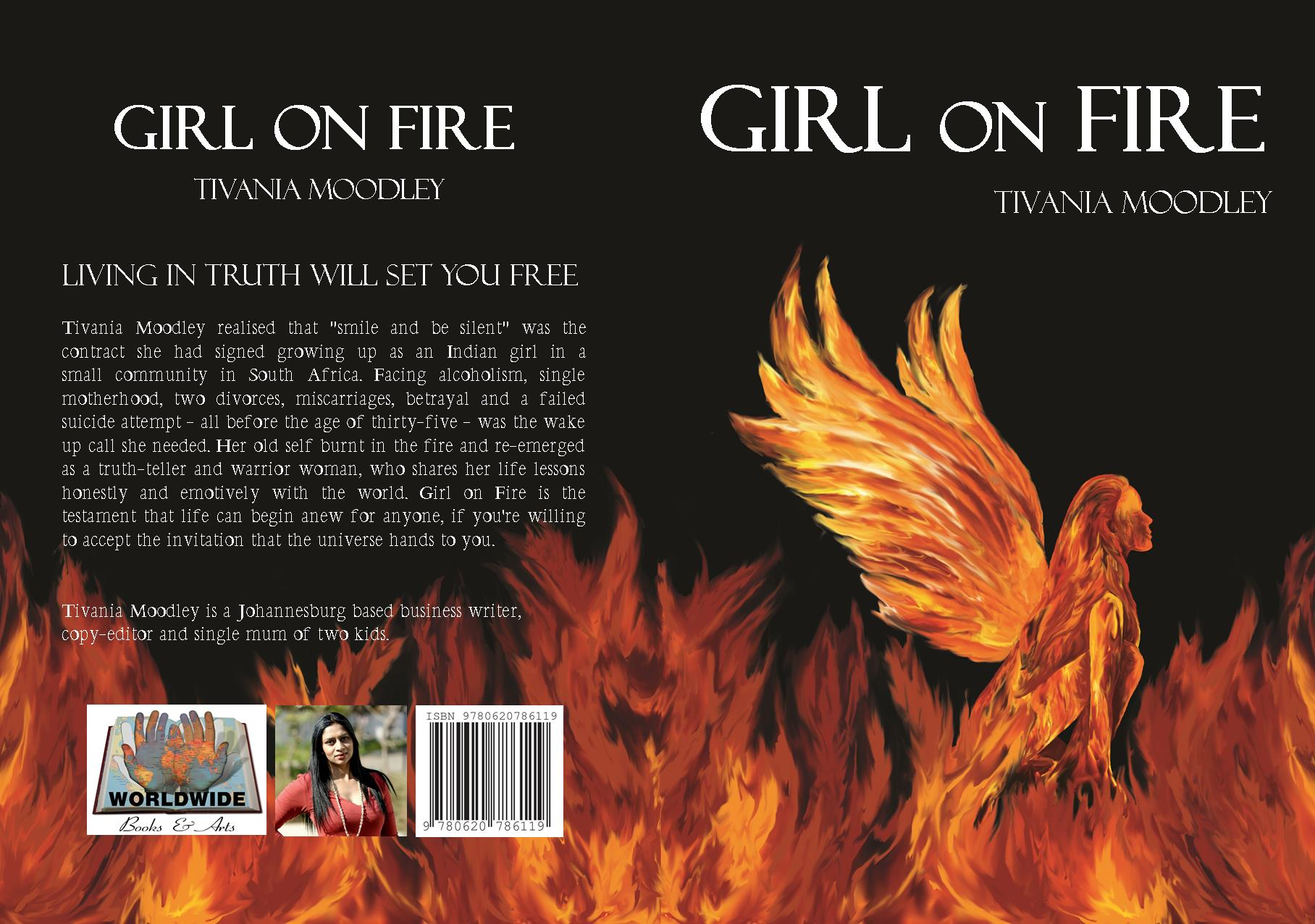 Girl on Fire by Tivania Moodley - R130